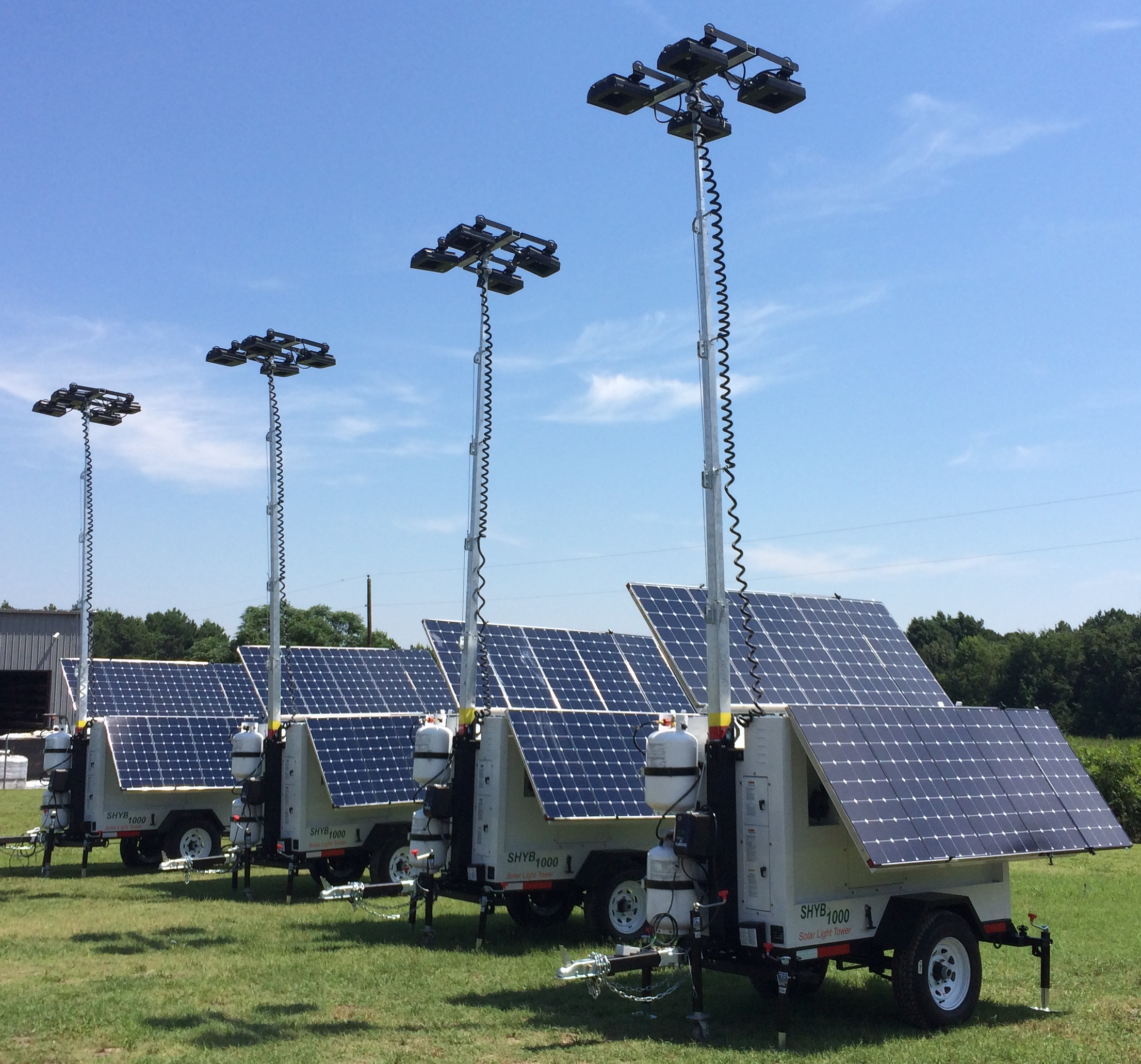 Solar Light Towers